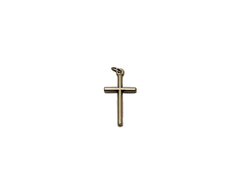 Cruz palitos s/Cristo  25mm. Italiana. metal