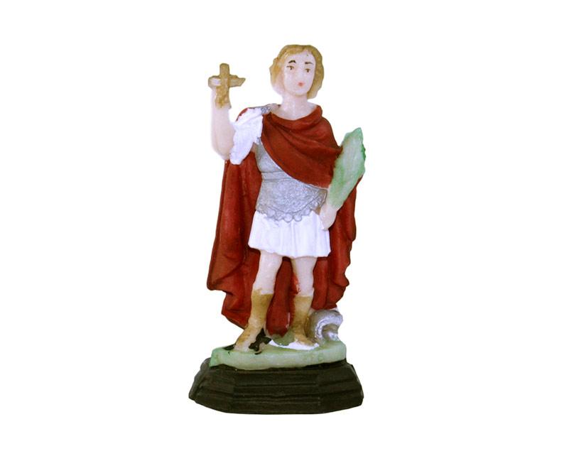 Estatua San Expedito 9cm PVC