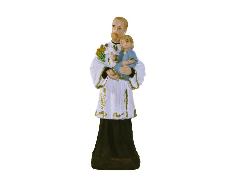 Estatua San Cayetano 12cm PVC