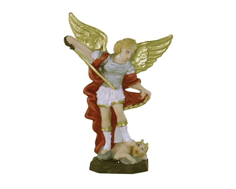 Estatua Miguel Arcángel 12cm  PVC