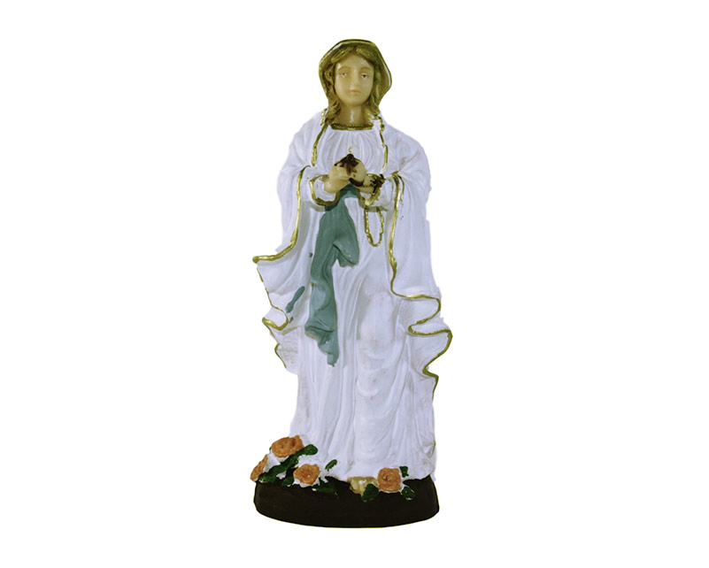 Estatua Lourdes 12cm PVC