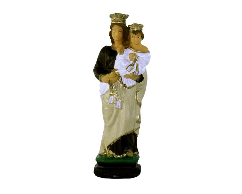 Estatua Virgen del Carmen 15cm PVC