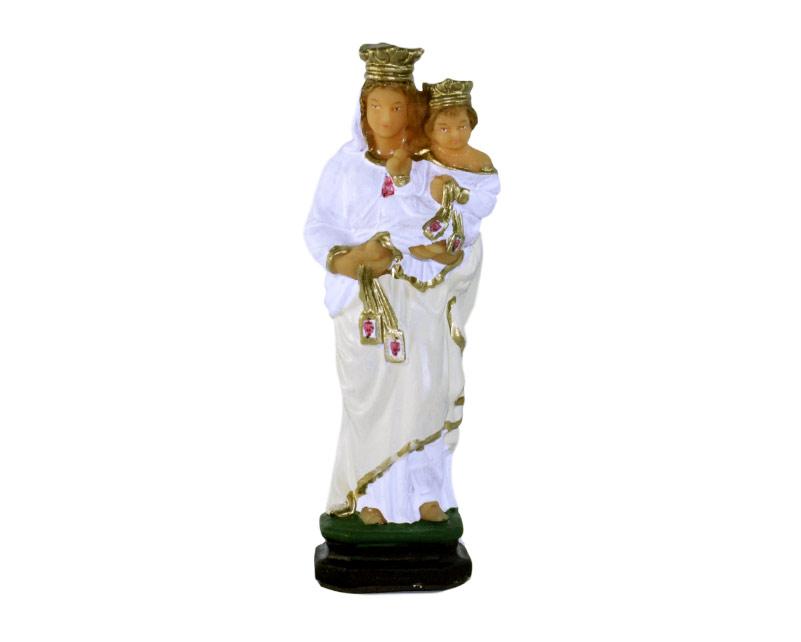 Estatua Virgen de la Merced 15cm. PVC