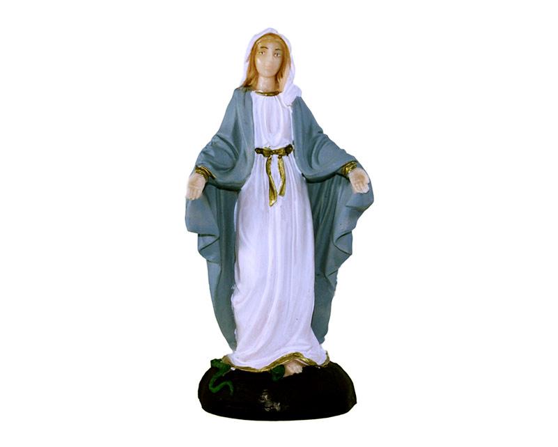 Estatua Virgen Milagrosa 15cm PVC