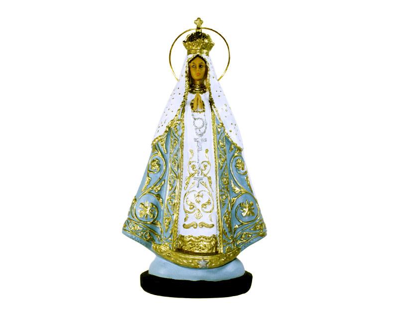 Estatua Virgen de Itatí 30cm PVC