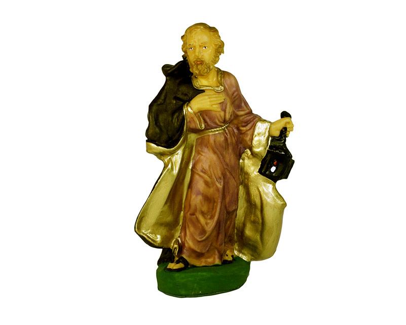 Estatua José 20cm p/pesebre