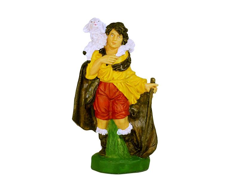 Estatua Pastor 20cm p/pesebre