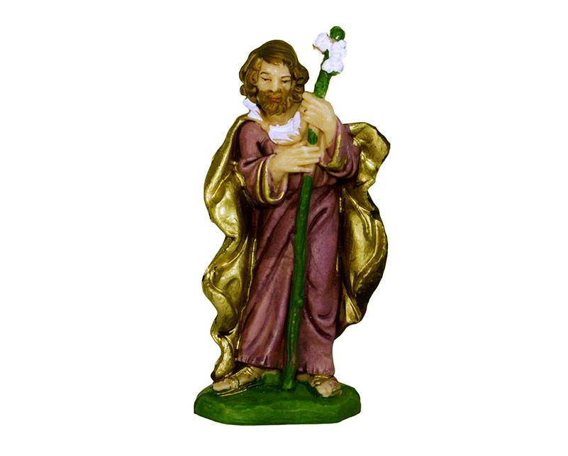 Estatua José 14cm  p/pesebre