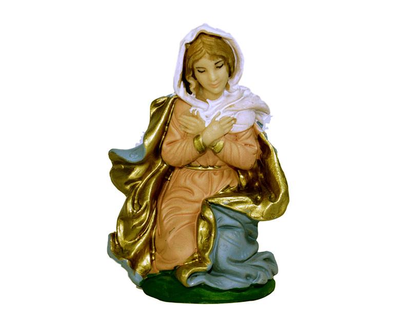 Estatua María 14cm  p/pesebre