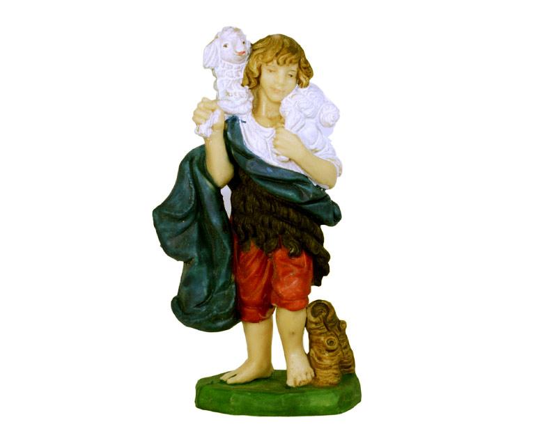 Estatua Pastor 14cm  p/pesebre