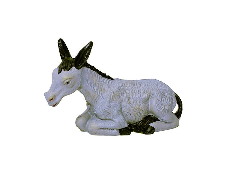 Estatua Burro 14cm  p/pesebre