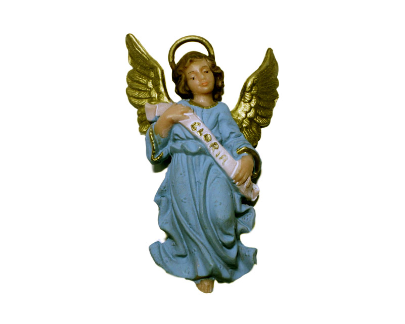 Estatua Ángel 14cm  p/pesebre